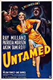 Untamed Us Poster Art From Left: Patricia Morison Ray Milland Akim Tamiroff 1940 Movie Poster Masterprint (24 x 36)