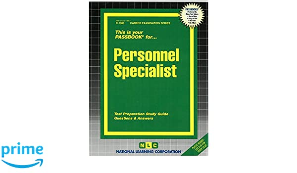 personnel specialist passbooks career examination series jack rh amazon com Personnel Specialist Job Description Personnel Specialist Duty Statement