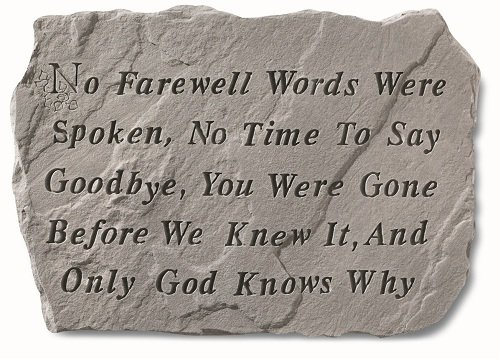 Kay Berry Inc Farewell Words were Spoken…, Multi Color