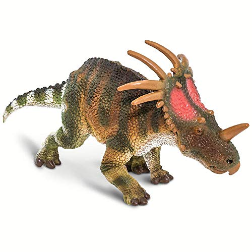 Safari Ltd. Prehistoric World - Styracosaurus - Quality Construction from Phthalate, Lead and BPA Free Materials - for Ages 3 and Up