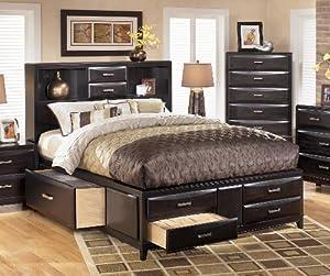 Amazon.com: Kira Cal. King Storage Bed Set: Home & Kitchen