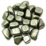 Tumbled Pyrite (Spain) (Mostly 5/8'' - 1'') - 1lb. Bag