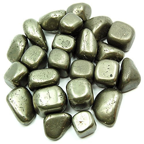 Tumbled Pyrite (Spain) (Mostly 5/8'' - 1'') - 1lb. Bag by Healing Crystals