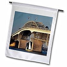 Danita Delimont - Bridges - Auckland Harbour Bridge, North Island, New Zealand-AU02 DWA3801 - David Wall - 18 x 27 inch Garden Flag (fl_70737_2)