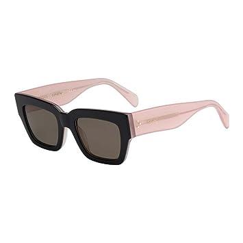 0f3ecbeddf2 Celine Womens 41078S 41078 S 6TV70 Black Opal Pink Brown Fashion Sunglasses  51mm  Amazon.ca  Sports   Outdoors