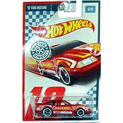 Hot Wheels Racing Circuit '92 Ford Mustang 10/10: Toys & Games