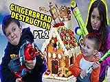 box of trolls - Gingerbread House Destruction Part 2! With Box Trolls
