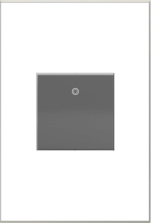 WHITE FINISH 15A ASPD1532W4 LEGRAND ADORNE PADDLE SWITCH