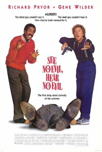 See No Evil Hear No Evil POSTER Movie (27 x 40 Inches - 69cm x 102cm) (1989) (Kevin Spacey See No Evil Hear No Evil)