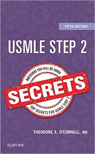 Amazon USMLE Step 2 Secrets E Book EBook Theodore X OConnell Kindle Store