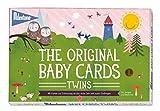 Milestone Baby Cards - Baby Erinnerungskarten für Zwillinge Twins in deutscher Sprache ...