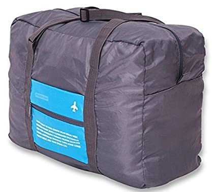 Aeoss ® Waterproof Foldable Super Large Capacity Storage Luggage Bag for Travel , Sports Gear or Gym, Can Attach on the Handle of Suitcase