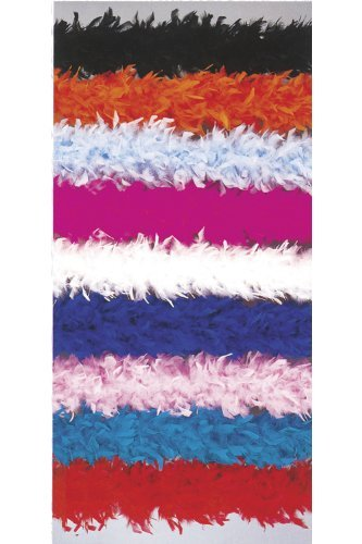 Be Wicked Two Tone Feather Boa Costume Accessory - coolthings.us