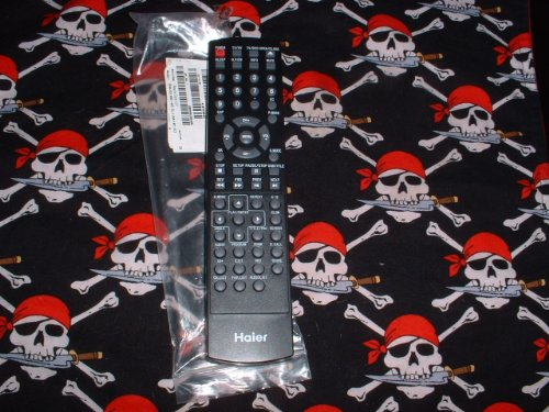 New Haier LCD TV/DVD Combo Remote Control TV-5620-56 0094013916 Supplied with models: HLC15B HLC15E HLC15R HCL15RW HLC15T HLC19E HLC19R HLC19RW HLC19T HLC19RW HLC19W HLC22R HLC22RW HLC26B HLC32B