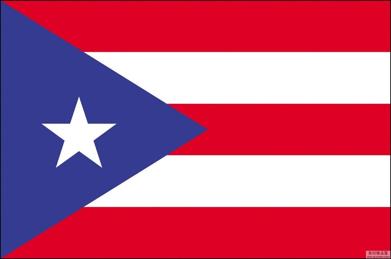 Gran Bandera de Puerto Rico 150 x 90 cm Durabol Flag: Amazon.es: Hogar