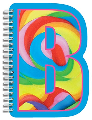 iscream Letter B Shaped Spiral-Bound Lined Page 6.5