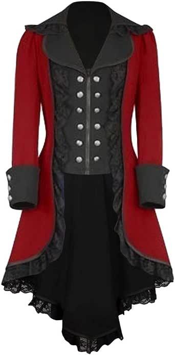 piabigka Manteaux - Vestido para Mujer otoño, Vintage, Cuello en V ...