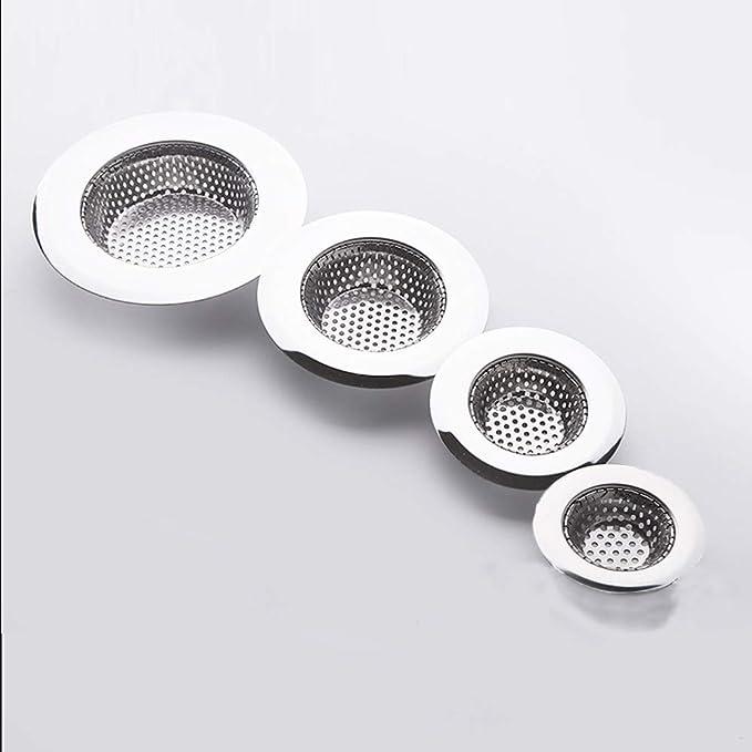 Hair Trap Shower Bath Plug Hole Waste Catcher Stopper Floor Drain Sink Strainer