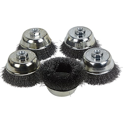Klutch 4in Crimped Wire Brushes product image