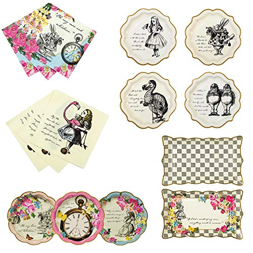 Talking Tables Alice in Wonderland Party Supplies |