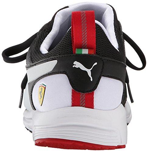 Puma Mens Pitlane Ferrari Night Cat Spets-up Mode Sneaker Svart / Vit