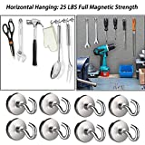 Youngneer 80LB Magnetic Hooks Heavy Duty for