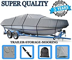 Our Cutting Edge Boat Cover will provide continuous year round protection for your boat both indoor and outdoor. - Built to Last: Our covers are newly designed to outlast any other cover. - Multi-function Design: Our covers are designed for a...