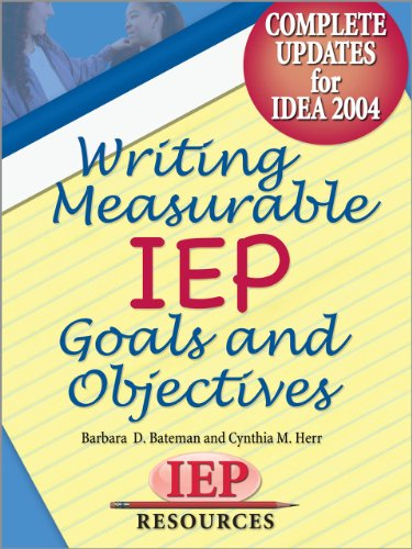 Amazon writing measurable iep goals and objectives ebook writing measurable iep goals and objectives by bateman barbara d cynthia m fandeluxe Images