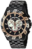 Roberto Bianci Men's RB70605 Casual Valentino Analog Black Dial Watch