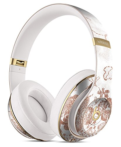 Rose Gold Lace Pattern 4 DesignSkinz Full-Body Skin Kit for the Beats by Dre Studio Remastered Wireless Headphones/Ultra-Thin/Matte Finished/Protective Skin Wrap