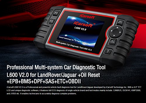 iCarsoft Auto Diagnostic Scanner L600 V2.0 for Landrover and Jaguar with ABS Scan,Oil Reset EPB etc by iCarsoft (Image #9)