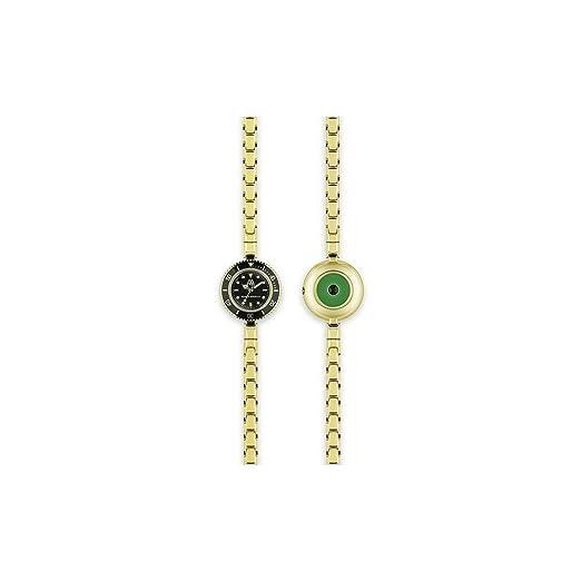 Reloj de mujer Time Collection de Marco Mavilla en acero dorado: Amazon.es: Relojes