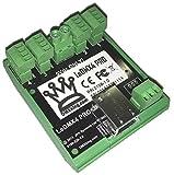 DMXking LeDMX4 PRO 12-24V LED RGB Pixel Controller DIN/wall mount
