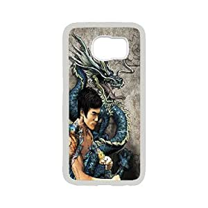 Jeet Kune Do founder Kung Fu Bruce Lee Hard Plastic phone Case Cove For Samsung Galaxy S6 JWH9142176