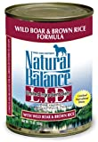 Dick Van Patten's Natural Balance L.I.D Limited Ingredient Diets Wild Boar and Brown Rice Canned Dog Formula, 13.2-Ounce, My Pet Supplies