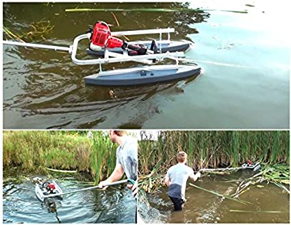 Amazon Com Aquatic Weed Cutter System For Cutting Lake Pond