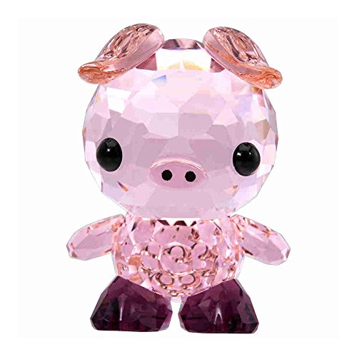 Swarovski Crystal Zodiac-Determined Pig Figurine - Pig Crystal