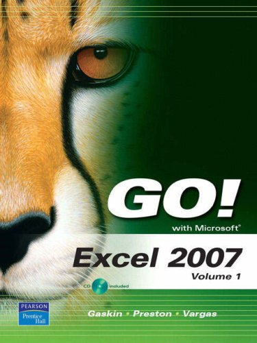 Microsoft Excel 2007 Book Pdf