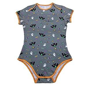 LittleForBig Adult Baby Snap Crotch Romper Onesie - Halloween Edition
