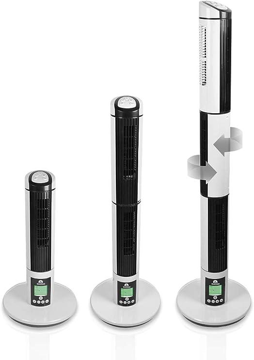 GLAZIAR 3 Ventilador torre 3 en 1. Tres direcciones, 45 W ...