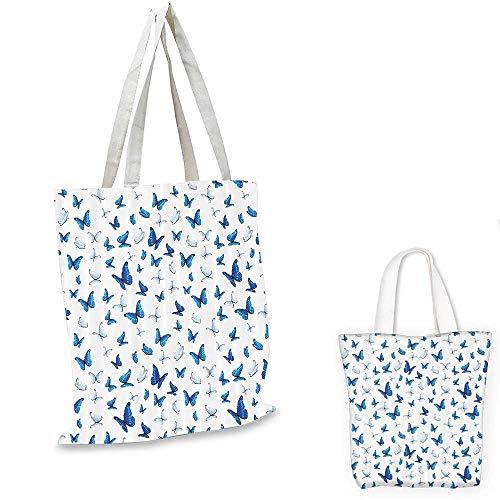 on non woven shopping bag Butterflies Patterns Seasonal Jolly Clip Art Rainforest Wilderness llustration. fruit shopping bag 14