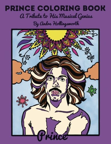 Prince Coloring Book: A Tribute to His Musical Genius