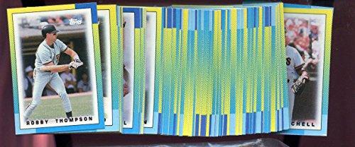 1990 Topps Major League Leaders Baseball Card Mini Complete Set