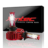 #4: Xentec 9006(HB4) LED Headlight Bulb for any 9006 Halogen Headlight Bulb upgrade to LED (1 pair, Ocean Blue)