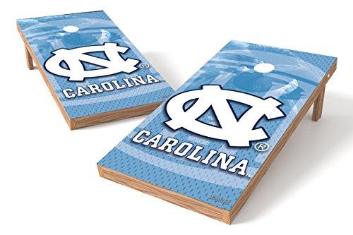 (Wild Sports NCAA College North Carolina Tar Heels 2' x 4' Authentic Cornhole Game Set)