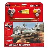 Airfix Douglas A4B Skyhawk Starter Gift Set (1:72 Scale)