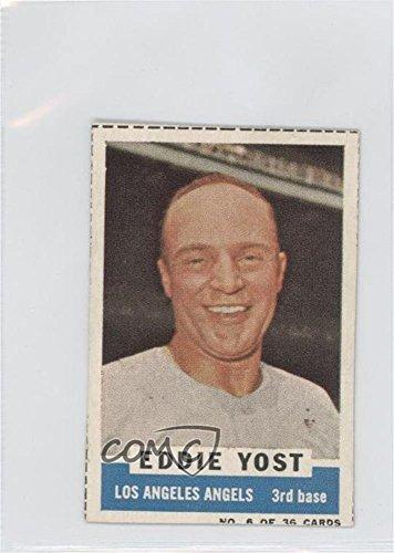 Eddie Yost COMC REVIEWED Authentic (Baseball Card) 1961 B...