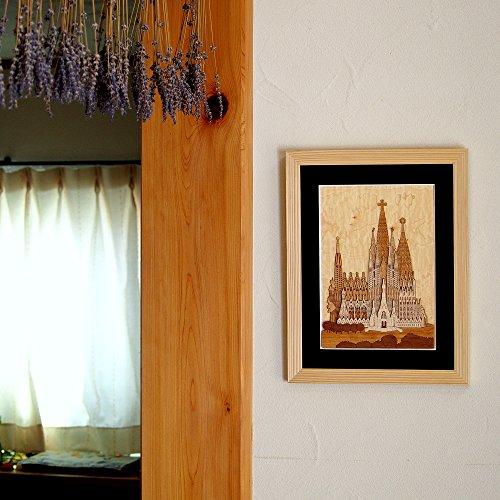 KINOWA Wooden Art Kit Kiharie Sagrada Familia Made in Japan by KINOWA (Image #7)