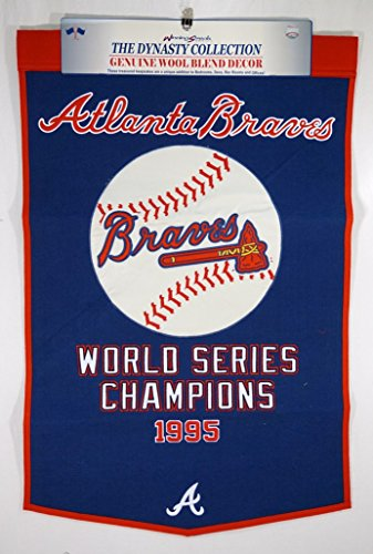MLB Atlanta Braves  Dynasty Banner (Braves Banner Atlanta Applique)