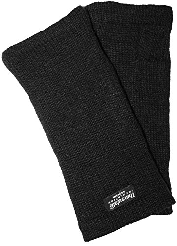 EEM knitted arm warmers MAYA made of 100% wool, Thinsulate lining, black Colorful Arm Warmers
